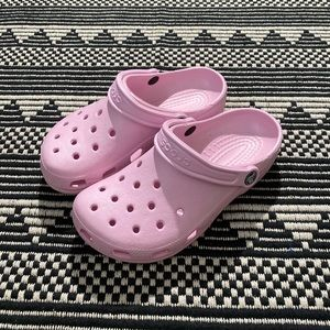 Crocs Pink Women's Rubber Sandals